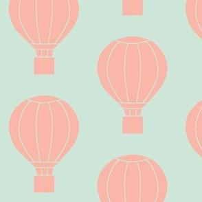 Up and Away Blush and Mint