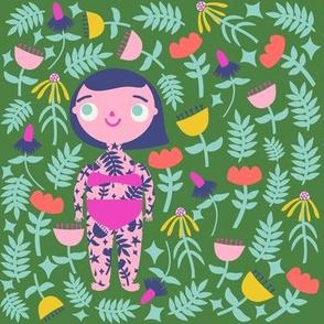 Flower Girl (grass)