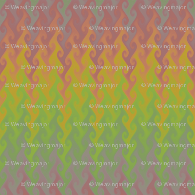 vintage rainbow flame chevron