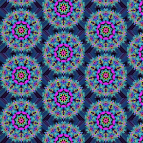 Blue bursts