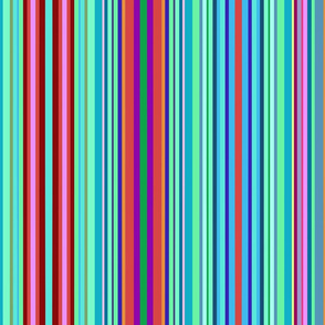 Earth Day Stripes - vertical
