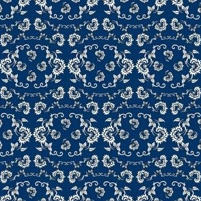 Colonial Doll Ornaments Fabric5