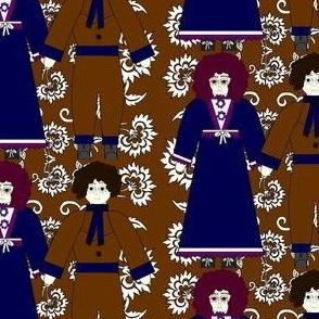 Colonial Dolls Ornament Fabric3