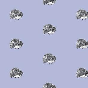 Purple Hedgehog small