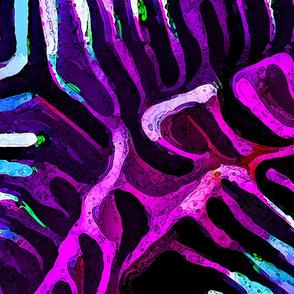 Brain Coral 3 Magenta-YD
