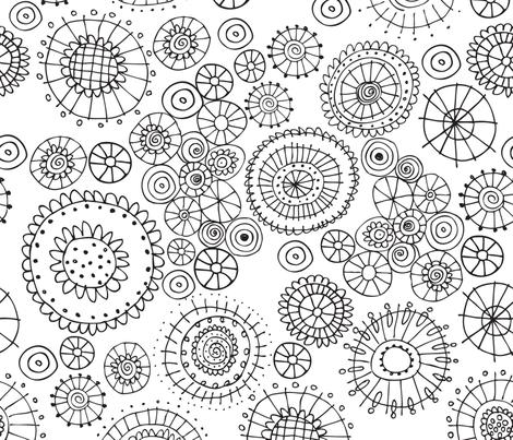 Full Bloom fabric by snowflower on Spoonflower - custom fabric
