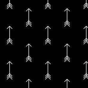 Black & White Arrow