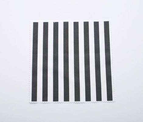 Black Stripes 1/2 Inch Vertical