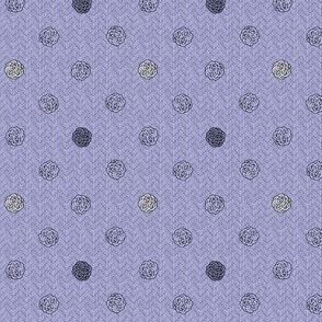 fairy dots 3 silver lilac