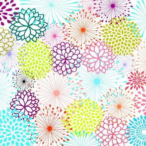 Poppy Burst Flowers