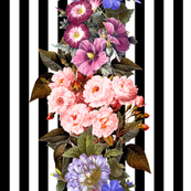 Striped Floral #1