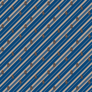 raven magic  stripes - House crest