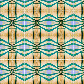 perspective stripe egyptienne | teal