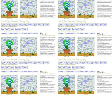 Earth_Day_Bag__-Spoon_Flower__Ale_Balanzario fabric by alebalanzario on Spoonflower - custom fabric