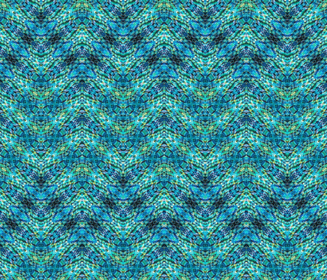 BLUZURE ZIGZAG fabric by suedudadesigns on Spoonflower - custom fabric