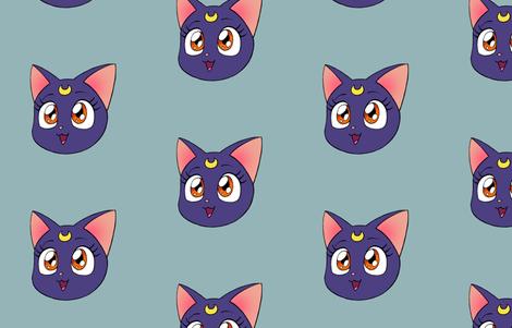 Luna fabric by aimee on Spoonflower - custom fabric