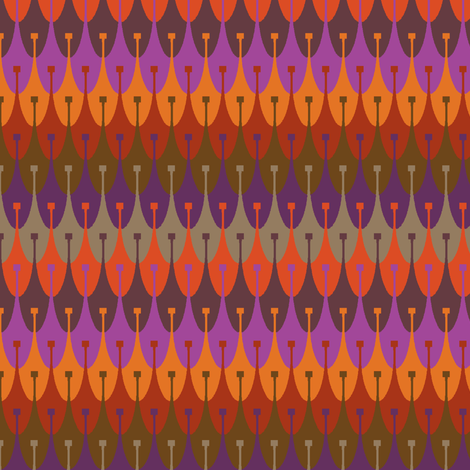 vineyard rows fabric by keweenawchris on Spoonflower - custom fabric