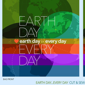 Earth Day Every Day_ShoppingTote 42""