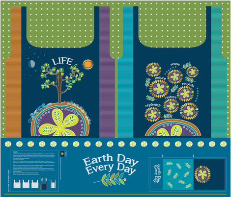 To Life on Earth fabric by liluna on Spoonflower - custom fabric