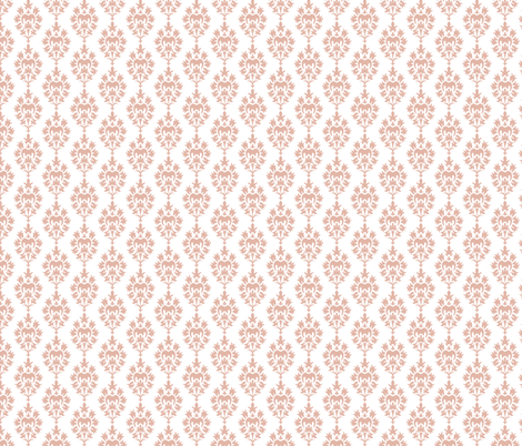 Damask Floral fabric by diane555 on Spoonflower - custom fabric