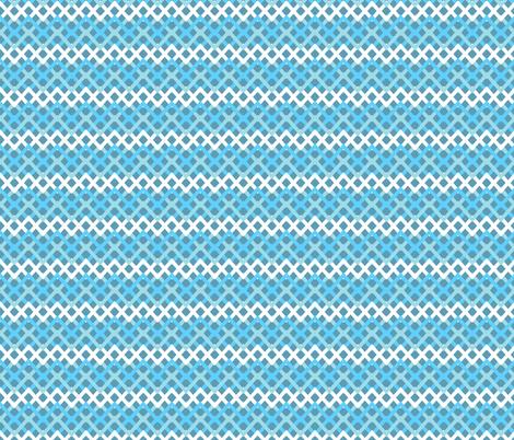 Blue Geometric fabric by diane555 on Spoonflower - custom fabric