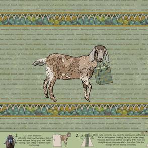 Global Goat Tote
