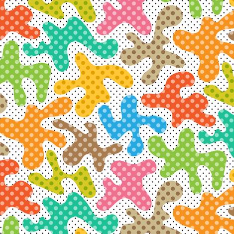 dottiest blobs ever fabric by darcibeth on Spoonflower - custom fabric