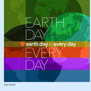 Earth Day Every Day_Shopping Tote 54fabric