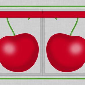 Cheery, cherry, bag - large