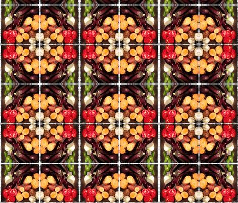 vegetable medallion fabric by liberation on Spoonflower - custom fabric