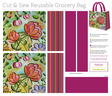Shop in Style fabric by snowflower on Spoonflower - custom fabric