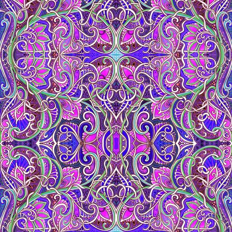 Rub the Genie's Lamp fabric by edsel2084 on Spoonflower - custom fabric