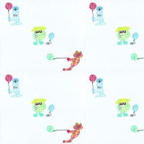 Happy Little Monsters