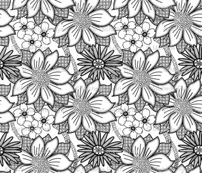 ColourMe Floral Wallpaper