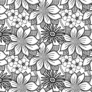 ColourMe Floral Wallpaper