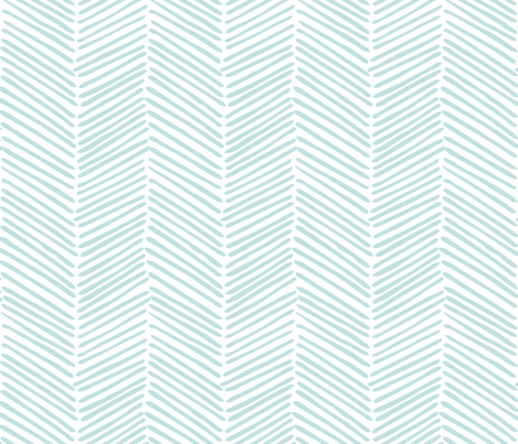 Freeform Arrows Large in mint fabric by domesticate on Spoonflower - custom fabric