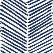 Freeform Arrows Large in indigo