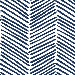 Freeform Arrows Large in indigo