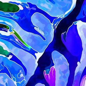 Brain Coral 7-Blue-FQ