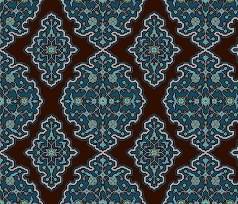 Serpentine 675c fabric by muhlenkott on Spoonflower - custom fabric