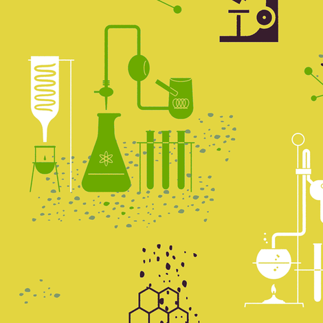 Science 1i fabric by muhlenkott on Spoonflower - custom fabric