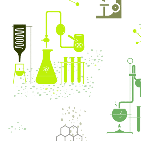 Science 1g fabric by muhlenkott on Spoonflower - custom fabric