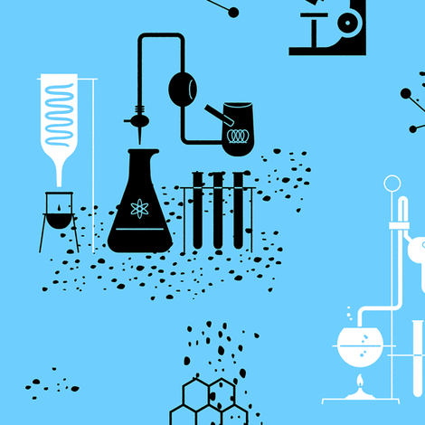 Science 1e fabric by muhlenkott on Spoonflower - custom fabric
