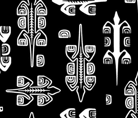 Moko 1b fabric by muhlenkott on Spoonflower - custom fabric
