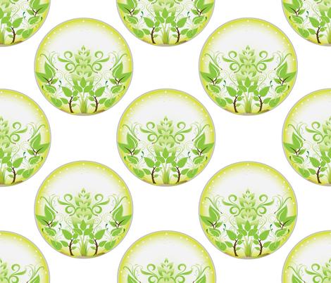 Terrarium fabric by colleen_currans_bush on Spoonflower - custom fabric