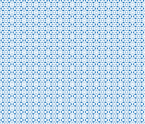 Royal Snowflake fabric by kari_goodwin on Spoonflower - custom fabric