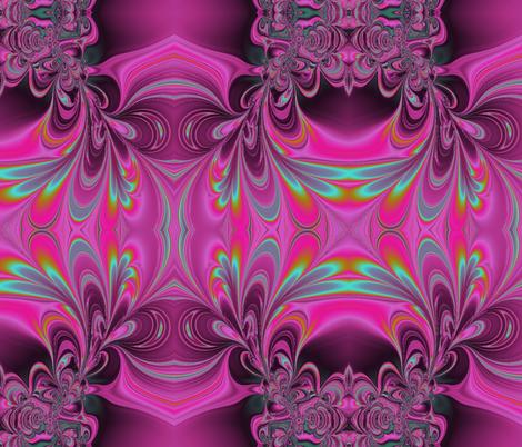 FractalSwirls fabric by charldia on Spoonflower - custom fabric
