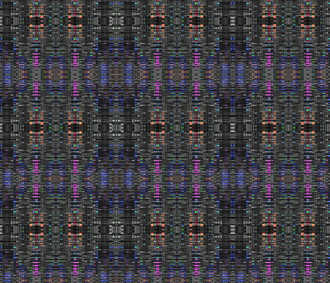 WhispersInBlack2 fabric by charldia on Spoonflower - custom fabric