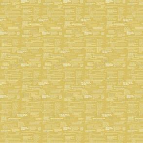 Aesop's Wisdom in mustard yellow