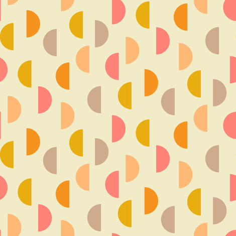 mod summer sun fabric by darcibeth on Spoonflower - custom fabric